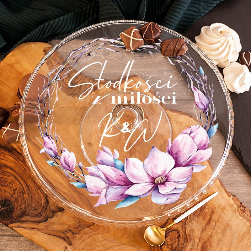Zdjęcie slidera - PATERA na Ciasto Słodkości z Miłości Prezent Ślubny PERSONALIZOWANA