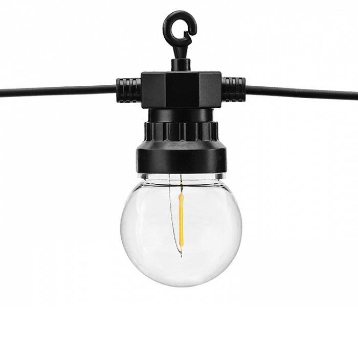 Zdjęcie w galerii - Lampki dekoracyjne LED, czarny, 5m