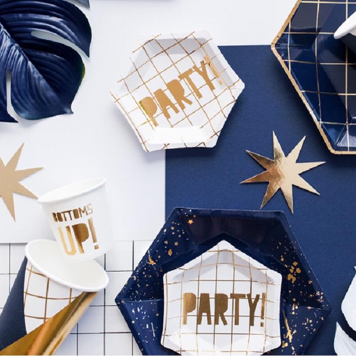 Zdjęcie w galerii - Talerzyki Let's Celebrate – Party!, 12,5 cm, 6 szt