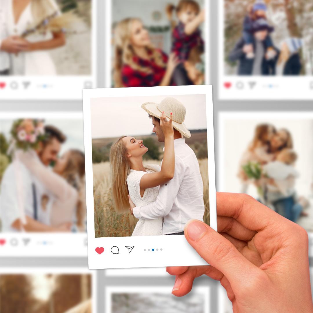 Zdjęcie w galerii - MAGNES InstaxMagnes Ze Zdjęciem PERSONALIZOWANY