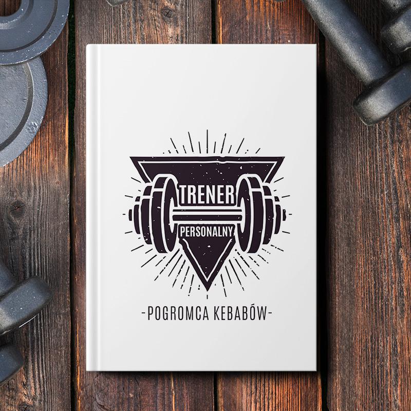 notatnik dla trenera siłacza na siłowni