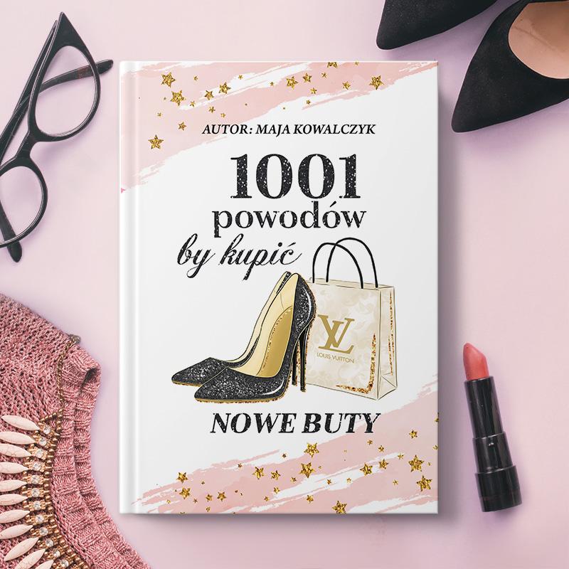 Zdjęcie w galerii - NOTATNIK Prezent Dla Kobiety Nowe Buty PERSONALIZOWANY
