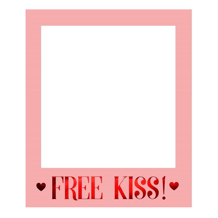 Zdjęcie w galerii - Ramka selfie na Walentynki Love is in the air, 50×59,5cm