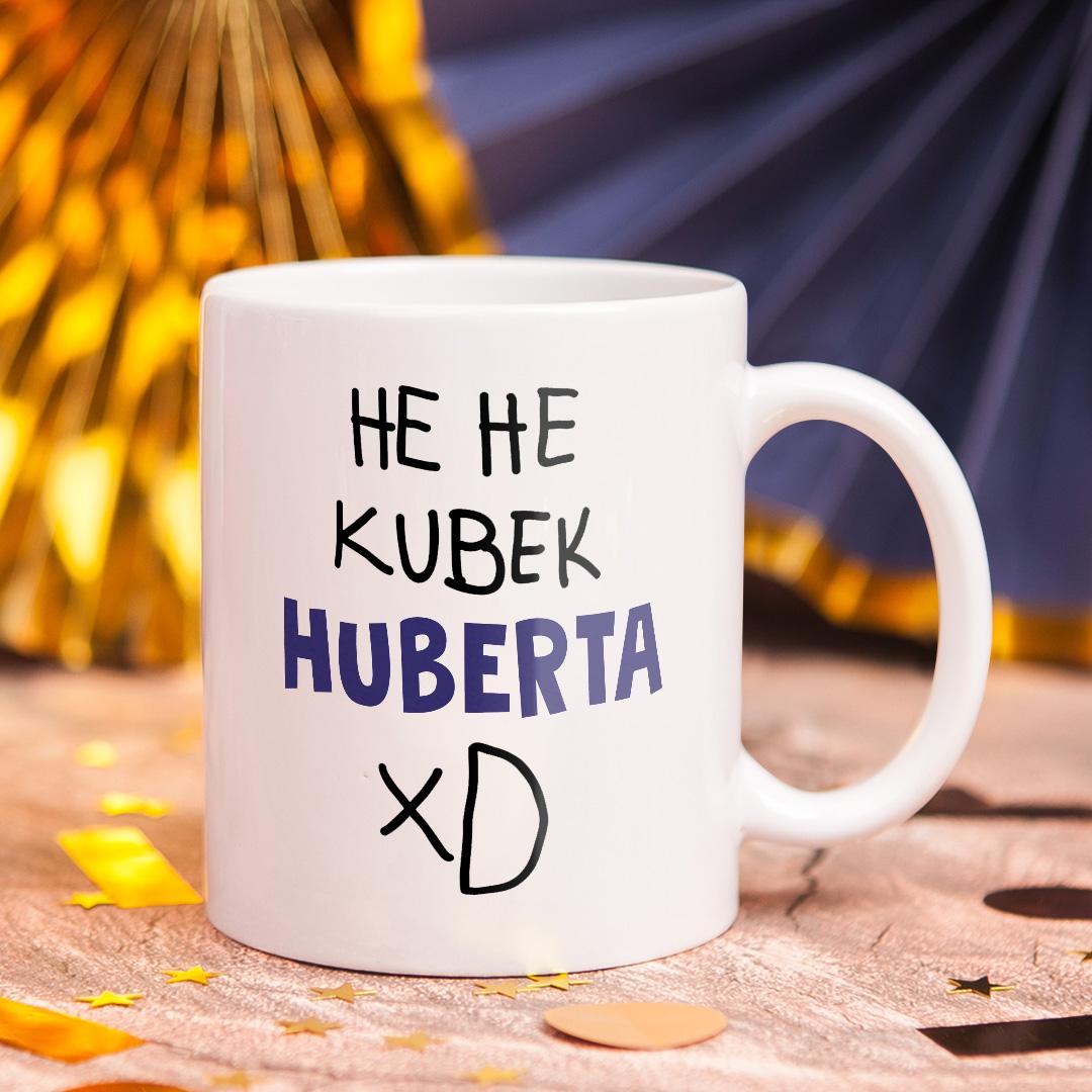 kubek personalizowany z napisem hehe xd
