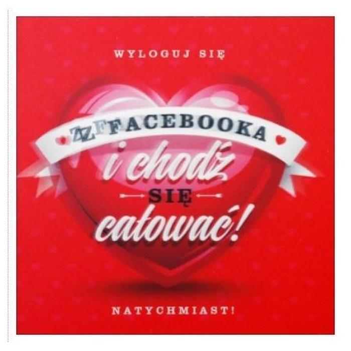 Zdjęcie w galerii - KARTKA dla Ukochanej Osoby Chodź się Całować +koperta