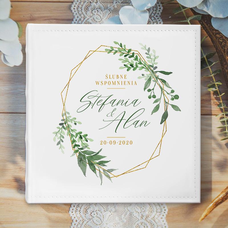 Zdjęcie w galerii - ALBUM ślubny Na Zdjęcia Prezent Dla Pary Młodej Ślubne Wspomnienia PERSONALIZOWANY