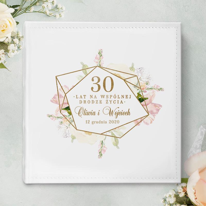 Zdjęcie w galerii - ALBUM ślubny na zdjęcia prezent dla Pary Młodej Rocznica Ślubu