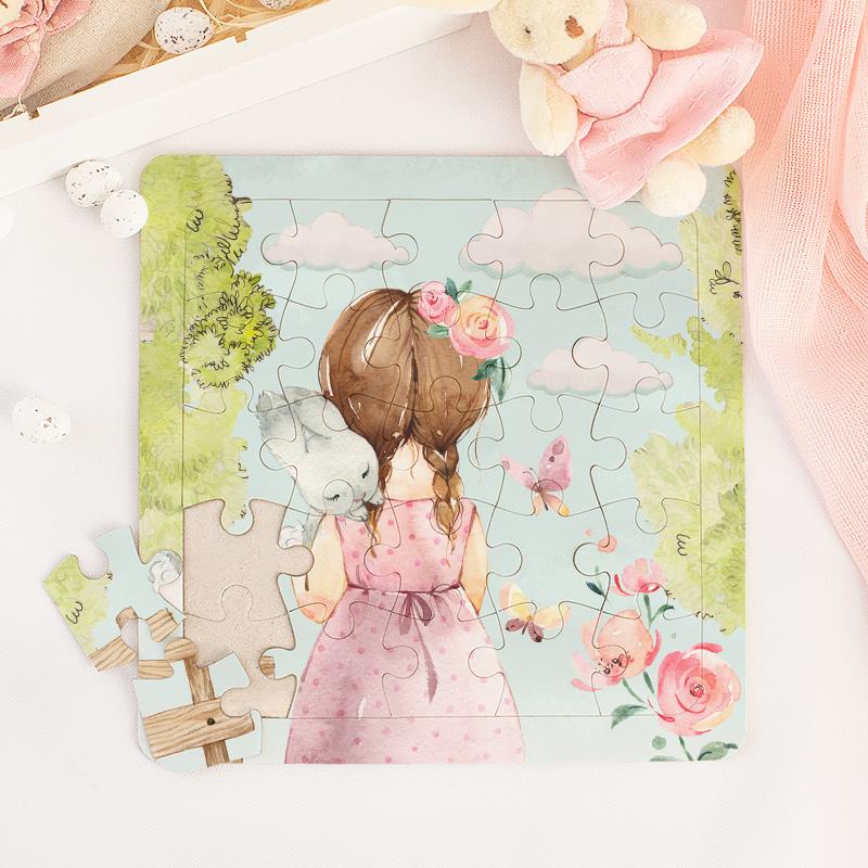 Zdjęcie w galerii - Skrzyneczka Zestaw Dla Dziewczynki Króliczek