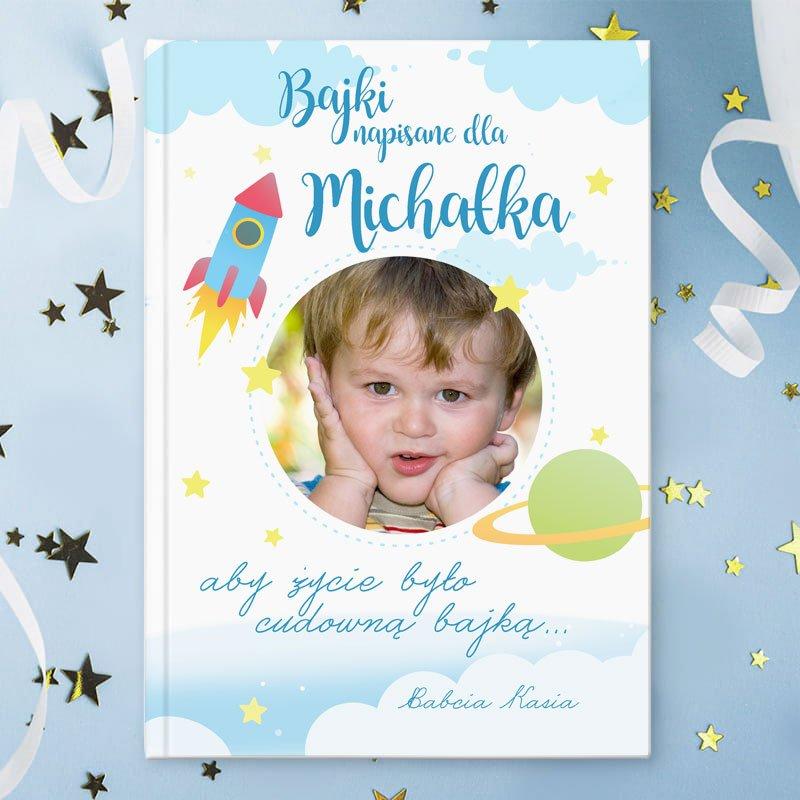 Zdjęcie w galerii - Książka Bajki Prezent dla chłopca ze zdjęciem 215str PERSONALIZOWANA