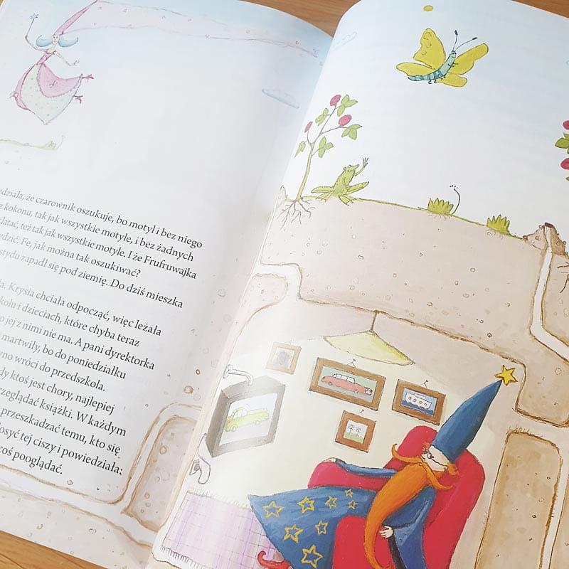 Zdjęcie w galerii - Książeczka Moje Bajki Prezent dla dziecka Królik w balonie z imieniem 215str