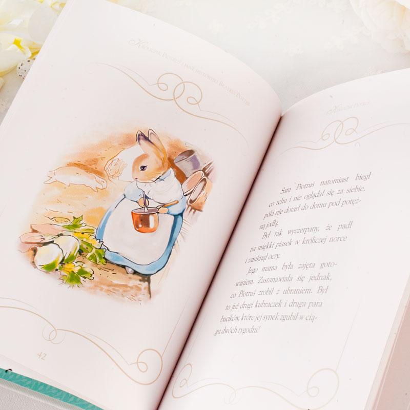 Zdjęcie w galerii - Skrzynka Wielkanocna Prezent Dla Dziecka Króliczki i Książka +bilecik z życzeniami