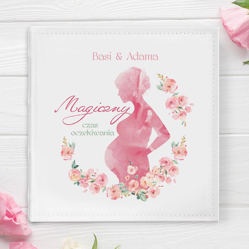 Zdjęcie w galerii - ALBUM na Zdjęcia Magiczny Czas Oczekiwania Dla Przyszłych Rodziców PERSONALIZOWANY