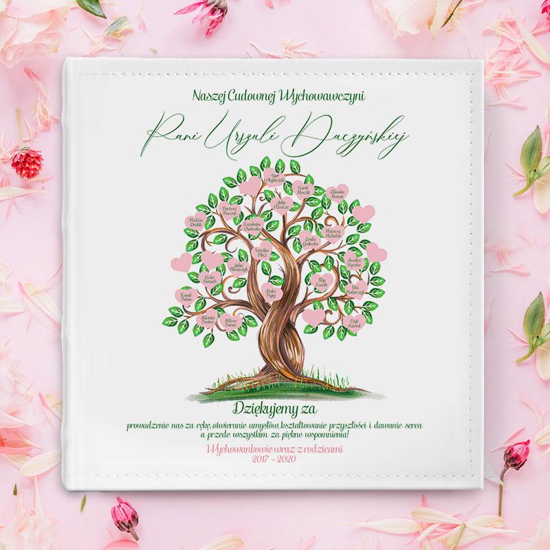 Zdjęcie w galerii - ALBUM na zdjęcia Podziękowania dla Wychowawcy Drzewo Serc