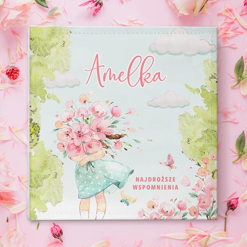Zdjęcie w galerii - ALBUM na zdjęcia Dziewczynka z Kwiatami