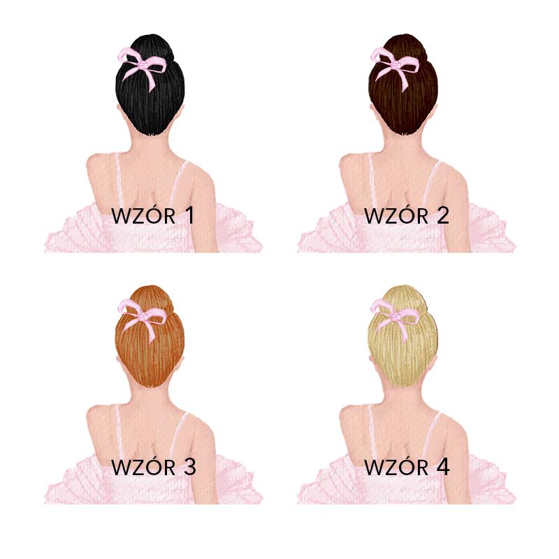 Zdjęcie w galerii - KUBEK Prezent dla Dziewczynki Baletnica Z Imieniem +wybór fryzury