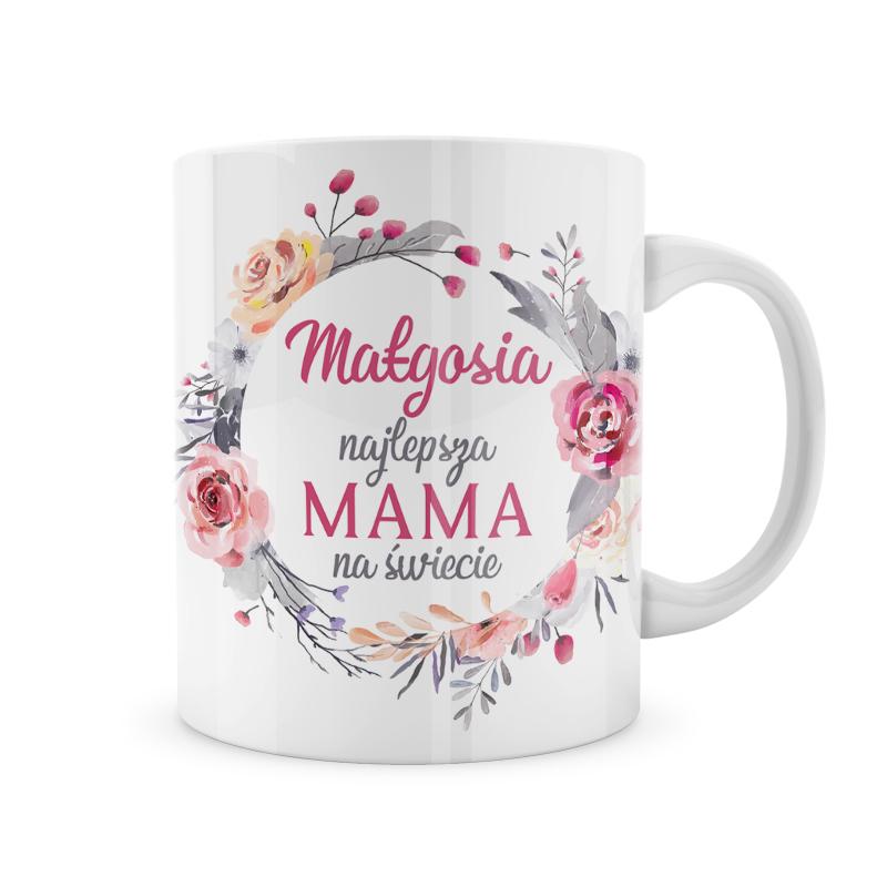 Zdjęcie w galerii - KUBEK prezent Najlepsza Mama na świecie PERSONALIZOWANY
