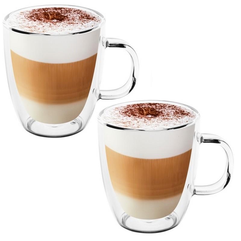 Kubki z latte ze specjalnej powłoki, która utrzymuje ciepło płynu, a z zewnątrz się nie nagrzewa.