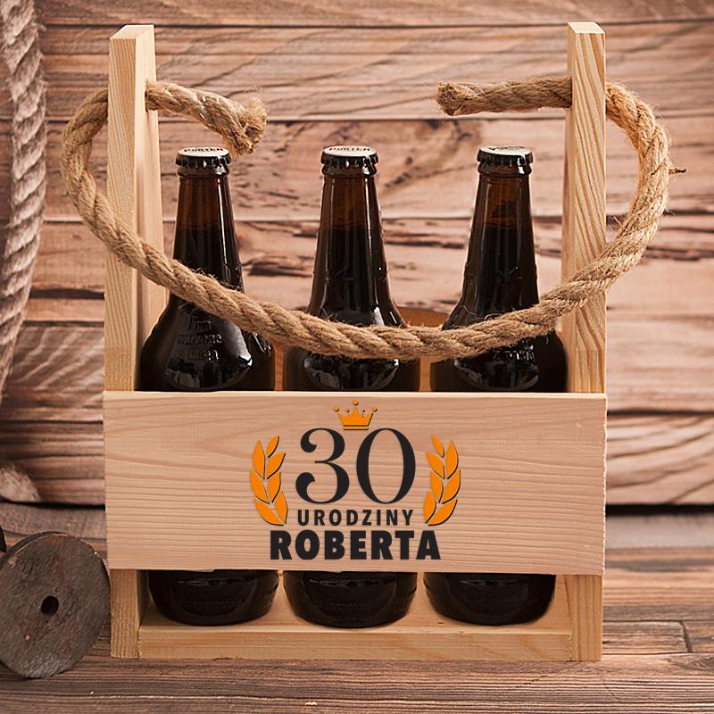 Zdjęcie w galerii - NOSIDŁO na 6 Piw Prezent na Okrągłe Urodziny PERSONALIZOWANE