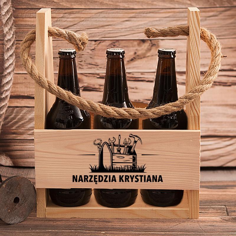 Zdjęcie w galerii - NOSIDŁO na 6 Piw Dla Piwosza Niezbędne Narzędzia PERSONALIZOWANE