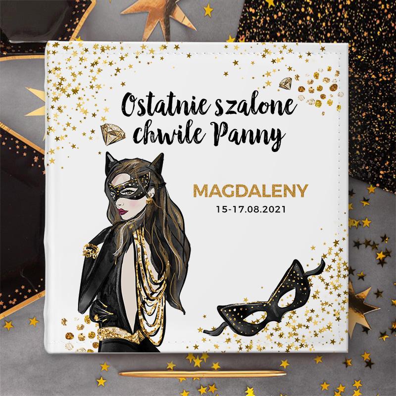 Zdjęcie w galerii - ALBUM na Zdjęcia Prezent Na Panieński CatWoman z IMIENIEM
