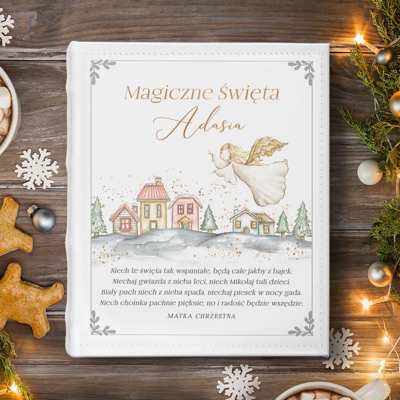Album personalizowany dla dziecka, prezent świąteczny.