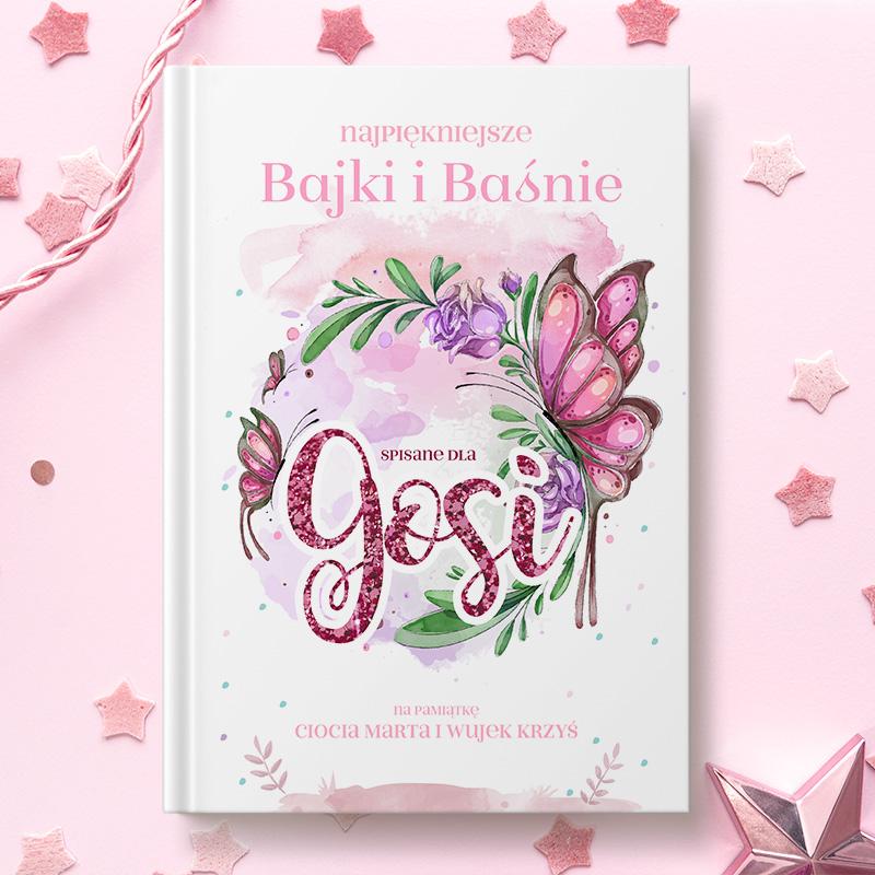 Książka z bajkami to doskonały pomysł na prezent dla każdej małej dziewczynki.