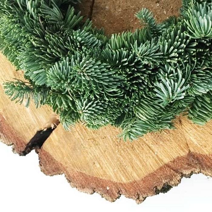 Zdjęcie w galerii - WIANEK świąteczny JODŁOWY OLBRZYMI Ø 42cm