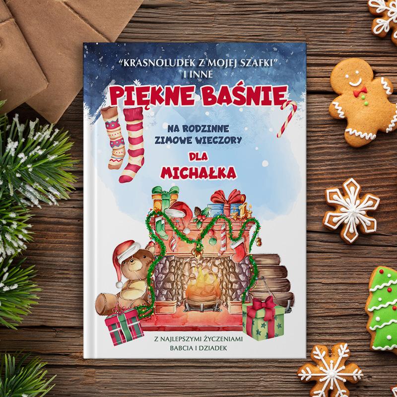 Personalizowana książka z bajkami z ciekawymi opowieściami. Idealny prezent na Święta Bożego Narodzenia!