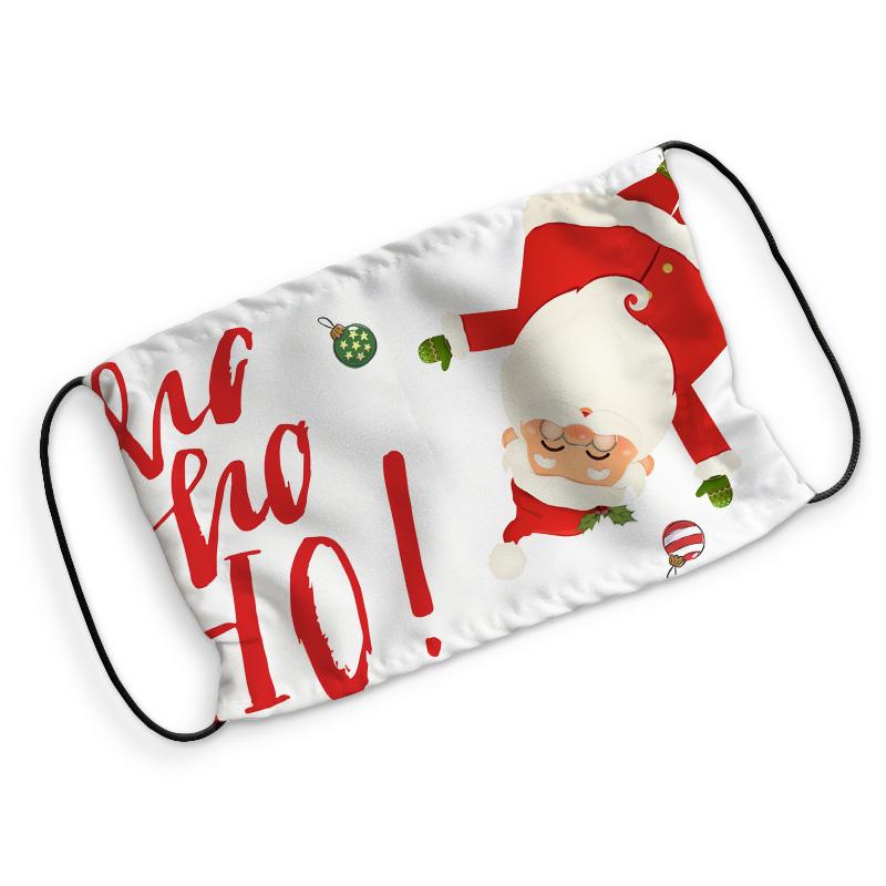 Świąteczna maseczka ochronna z filtrem to idealny prezent i gadżet na Święta Bożego Narodzenia.