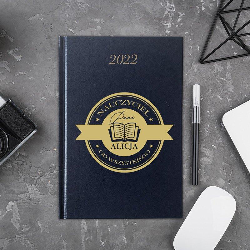 Personalizowany kalendarz na rok 2022. Wyjątkowy upominek dla bliskiej osoby.