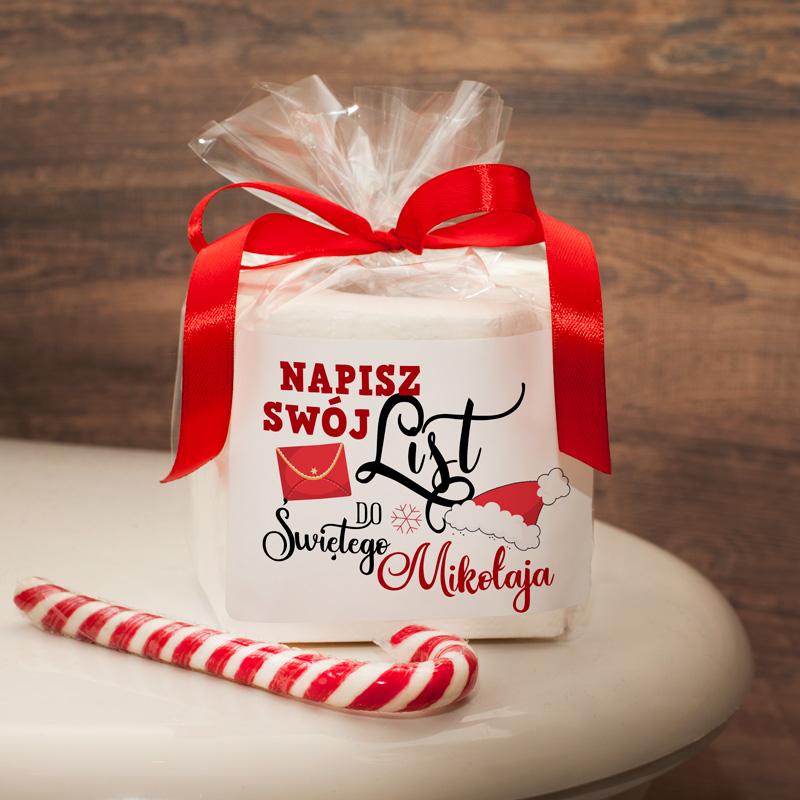 Papier toaletowy idealnie sprawdzi się jako zabawny prezent na Święta Bożego Narodzenia.