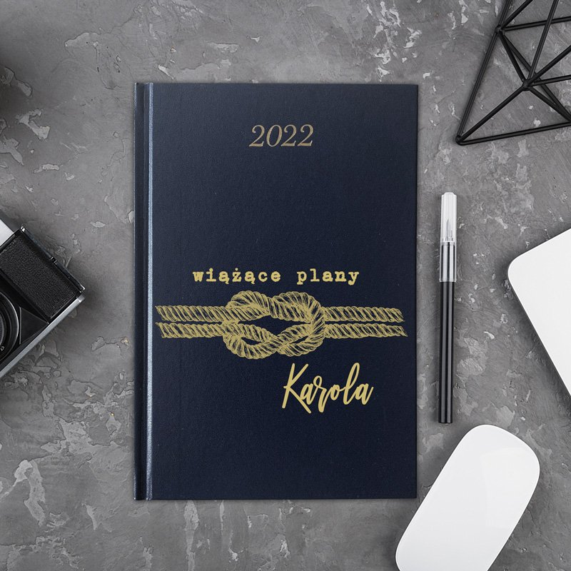 Zdjęcie slidera - KALENDARZ Książkowy 2022 Wiążące Plany PERSONALIZOWANY