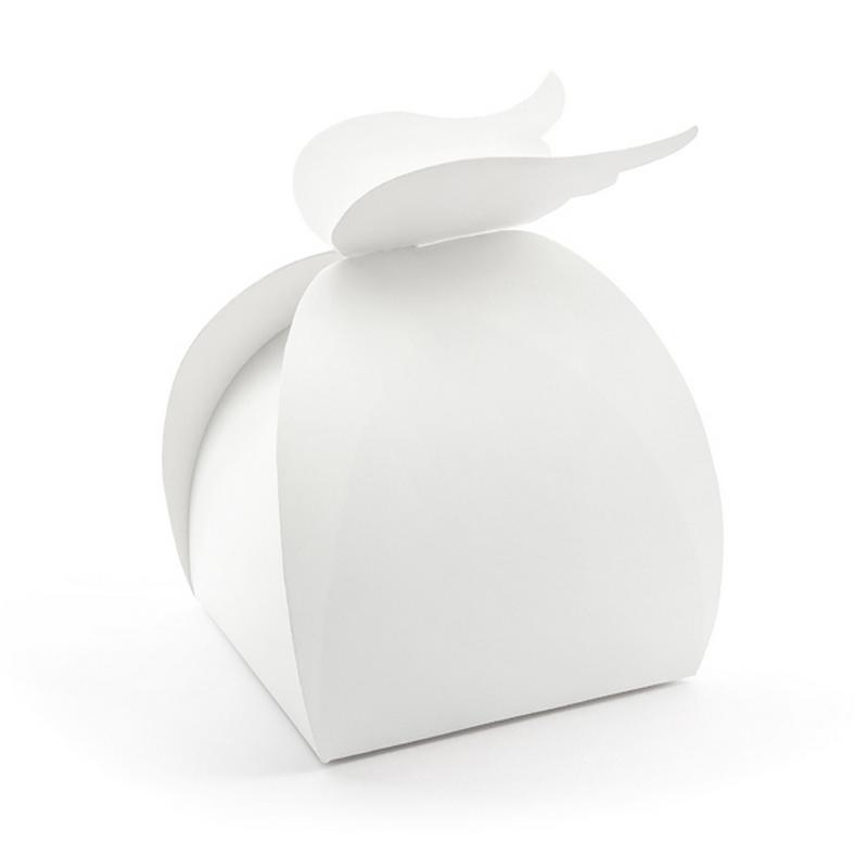 Zdjęcie w galerii - PUDEŁKA na Prezenty Białe Skrzydła 10szt