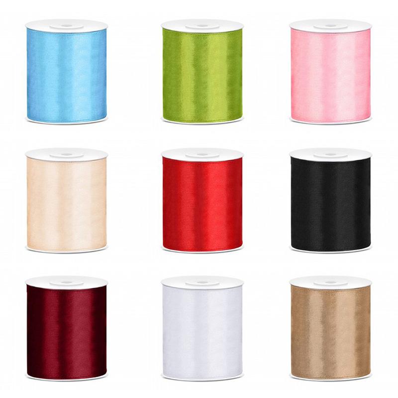Wstążki plastikowe wykonane w 4 kolorach złotym, srebrnym, białym i kremowym
