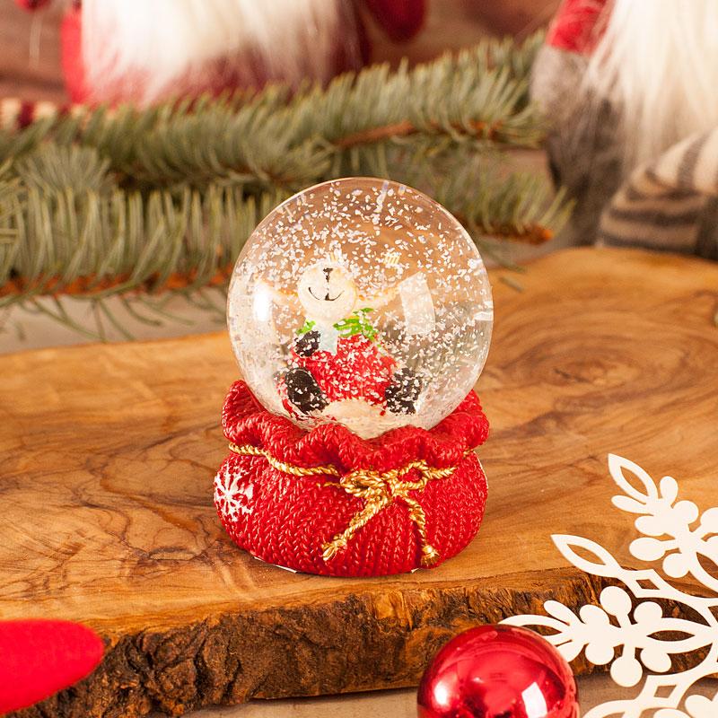 Zdjęcie w galerii - KULA śnieżna Szklana Ozdoba świąteczna