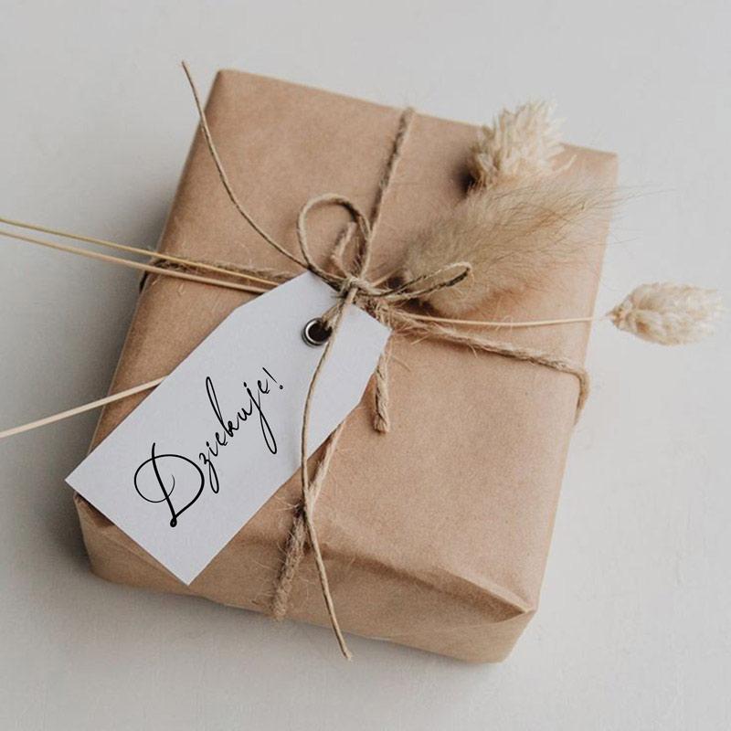 Papier kraftowy do pakowania prezentów