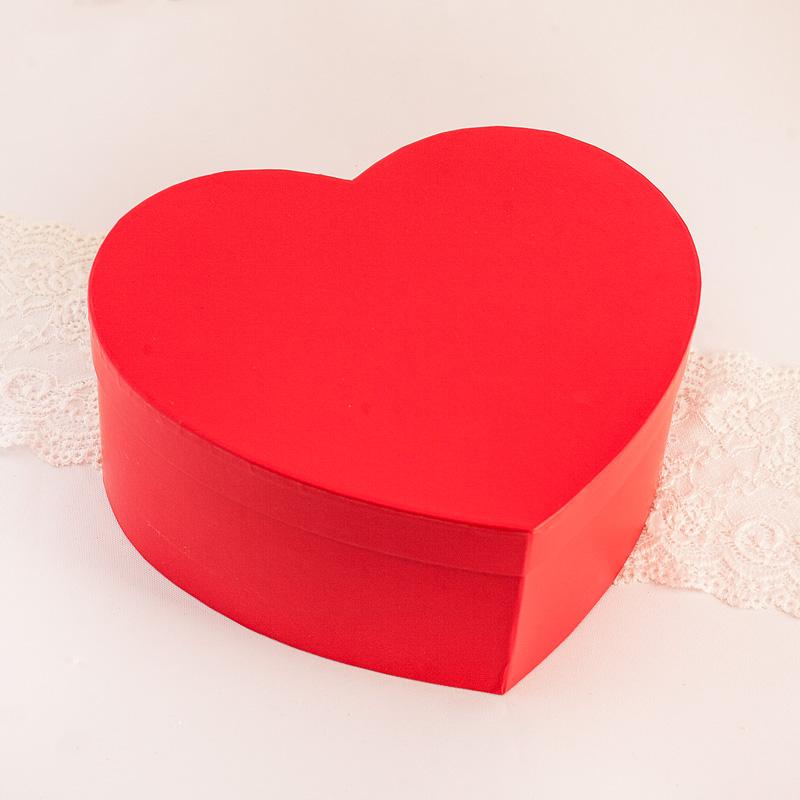 Zdjęcie w galerii - PUDEŁKO Czerwone Serce ROZMIARY do WYBORU