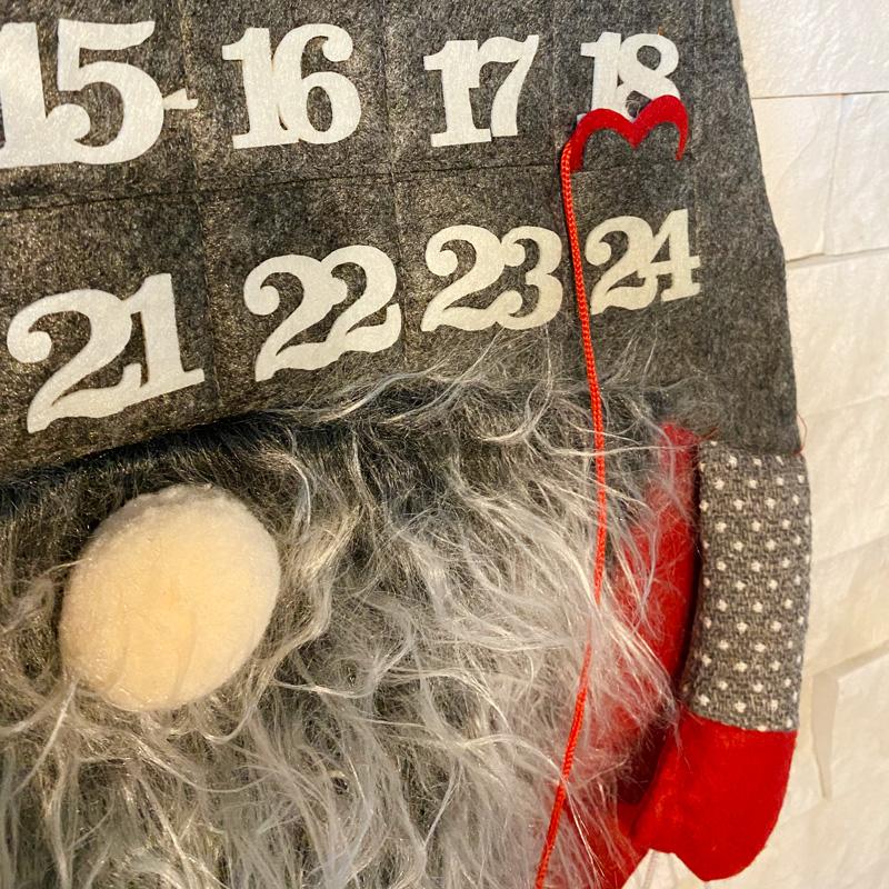 Zdjęcie w galerii - KALENDARZ Adwentowy i Ozdoba Świąteczna Filcowy Skrzat