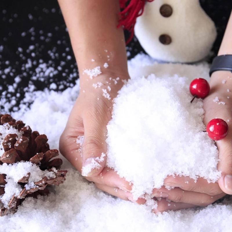 Sztuczny śnieg dekoracja na święta do własnej aranżacji.