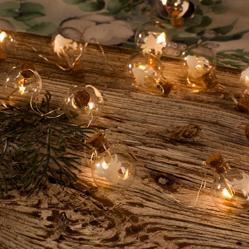 Zdjęcie w galerii - Dekoracja Świetlna LAMPKI Renifery