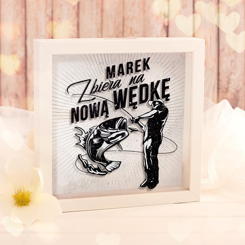 Zdjęcie w galerii - SKARBONKA 3D dla Wędkarza Zbieram na Nową Wędkę