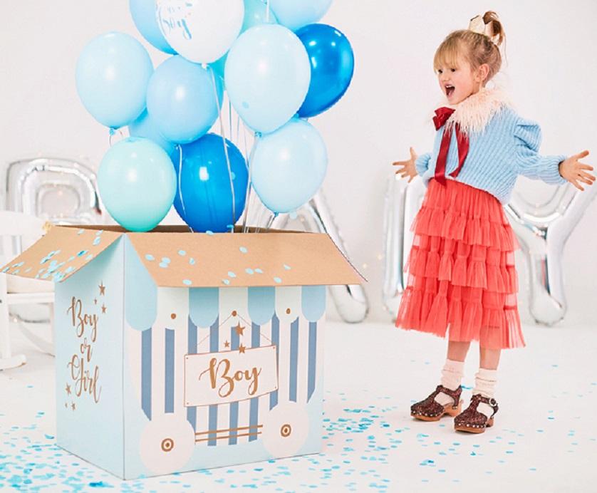 Zdjęcie w galerii - PUDŁO XXL do Poczty Balonowej BOY OR GIRL