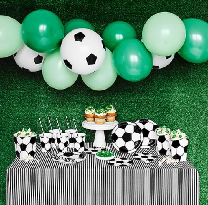 Zestaw dekoracji na urodziny dla chłopca PIŁKA