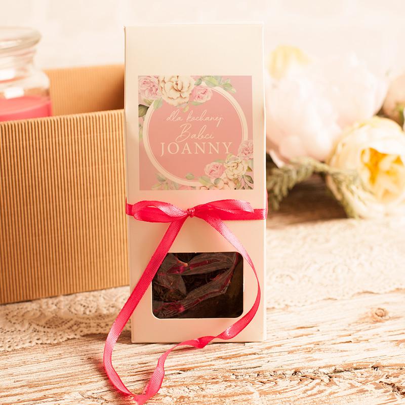 Zdjęcie w galerii - ZESTAW Aromatyczny dla Babci Świeca i Herbata
