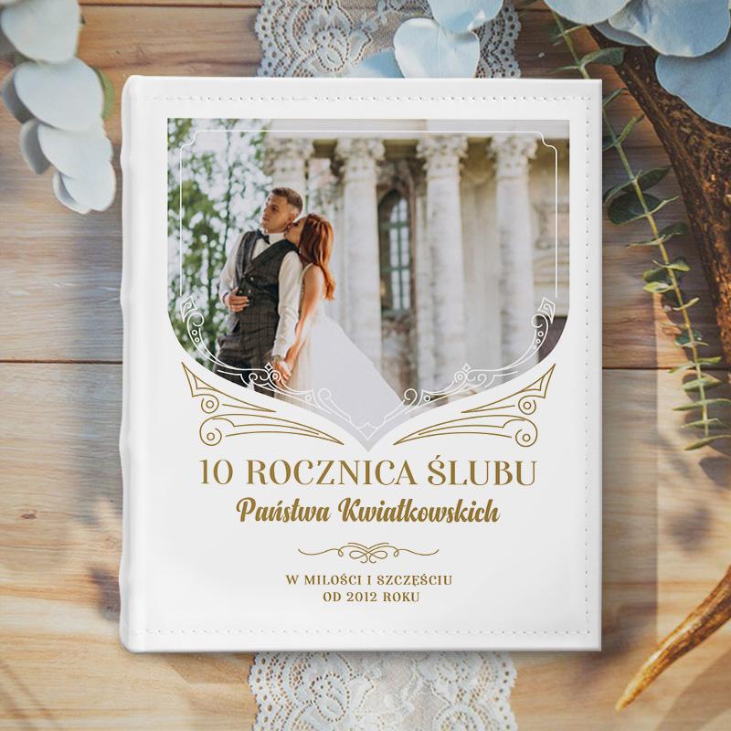 Zdjęcie w galerii - ALBUM fotograficzny Ze zdjęciem Pamiątka na Rocznicę Ślubu