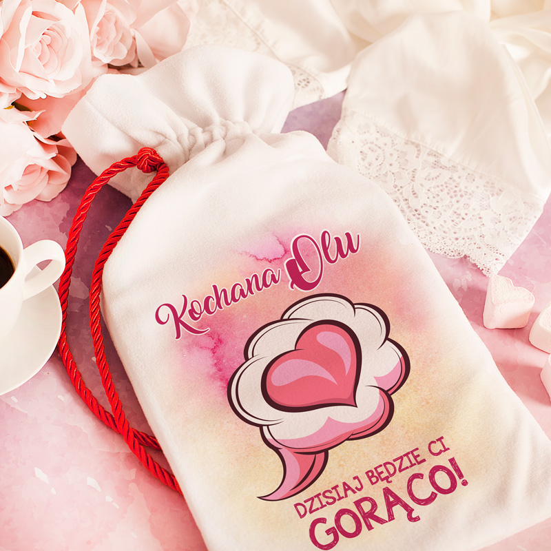Zdjęcie w galerii - TERMOFOR W Kubraczku Prezent Walentynkowy Dla Niej