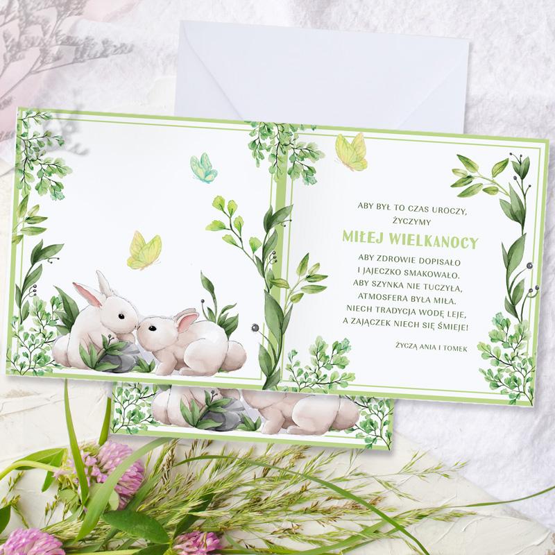 Zdjęcie w galerii - KARTKA z życzeniami wielkanocnymi Dla Rodziny i Przyjaciół