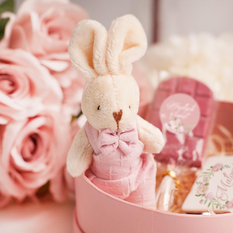 Zdjęcie w galerii - ZESTAW Wielkanocny Różowa Zagroda Prezent dla Dziewczynki