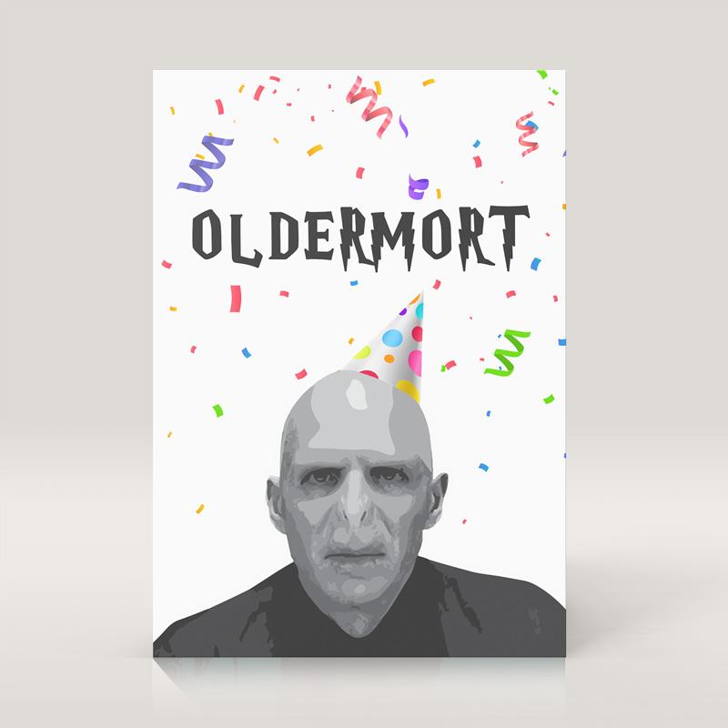 Zdjęcie w galerii - KARTKA Urodzinowa Lord Oldermort Upominek Dla Faceta