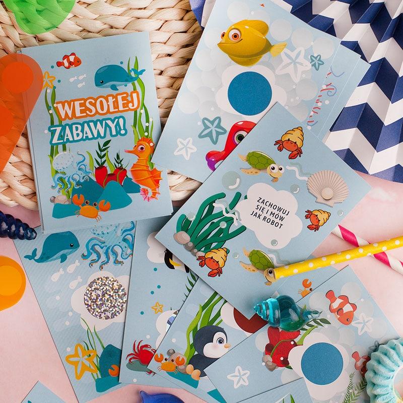Zdjęcie w galerii - GRA Dla Dzieci Zadania do Wykonania Pod Zdrapkami Morska Przygoda